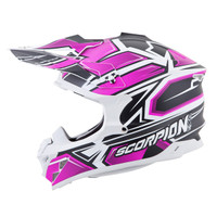 Scorpion VX-35 Finnex Helmet Pink Side Ciew