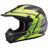 GMax Youth GM46.2X Race Helmet  Yellow