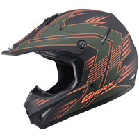 GMax Youth GM46.2X Race Helmet Olive