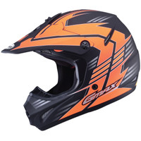 GMax Youth GM46.2X Race Helmet Orange