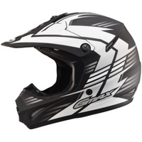 GMax Youth GM46.2X Race Helmet White