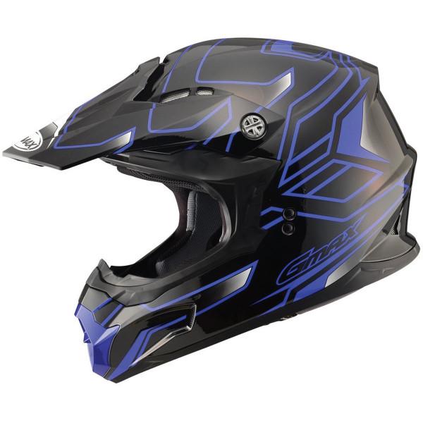 GMax MX86 Step Helmet Blue