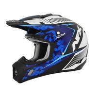 AFX Youth FX-17Y Factor Complex Helmet Blue
