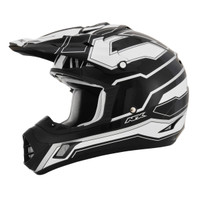 AFX FX-17 Works Helmet Black