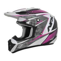 AFX FX-17 Factor Gloss Helmet Pink