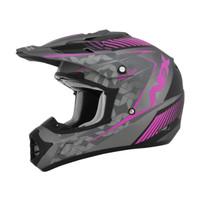 AFX FX-17 Factor Frost Helmet Pink