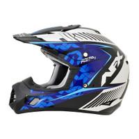 AFX FX-17 Factor Complex Helmet Blue