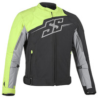 Speed & Strength Hammer Down Jacket Hi Viz Front View