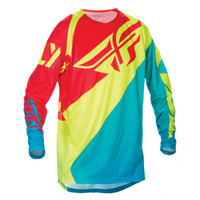 Fly Racing Youth Evolution 2.0 Jersey Yellow