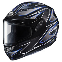 HJC CS-R3 Spike Helmet With Dual Lens Shield Blue