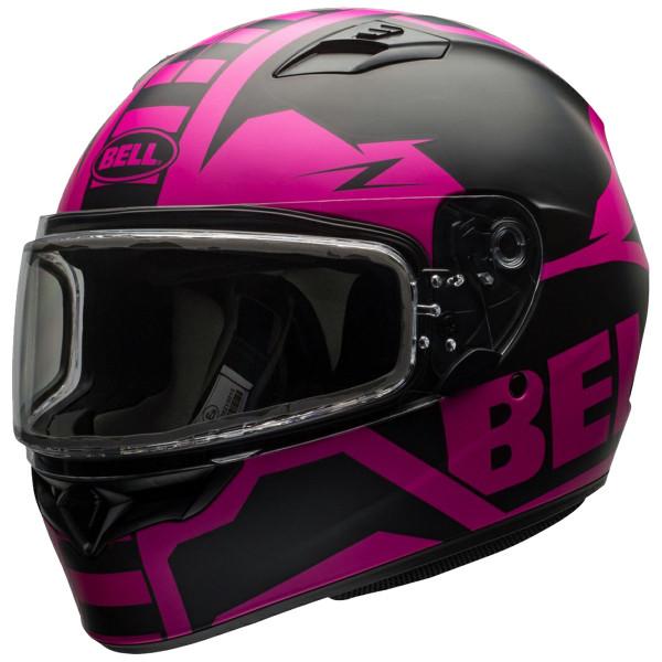 Bell Women's Qualifier Momentum Snow Helmet Electric Shield  1