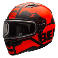 Bell Qualifier Momentum Snow Helmet with Dual Shield Orange