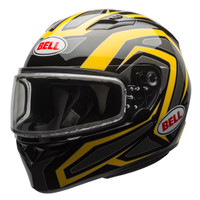 Bell Qualifier Machine Snow Helmet with Electric Shield Yellow