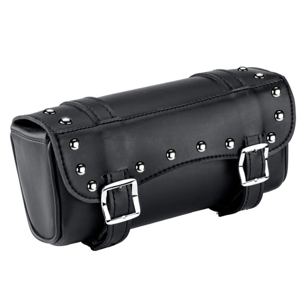 Vikingbags Motorcycle Studded Fork Bags 1