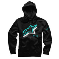 Alpinestars Halogen Zip Hoody Black