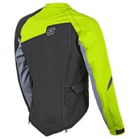 Speed & Strength Women's Back Lash Jacket Hi Viz Back Side