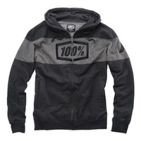 100% Syndicate Zip Hoody Gray