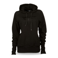 Fly Racing Lace Women's Hoodie Black