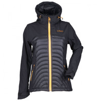 Divas Snow Gear Women's Soft Shell Jacket Black