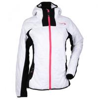 Divas Snow Gear Women's Fleece Jacket White