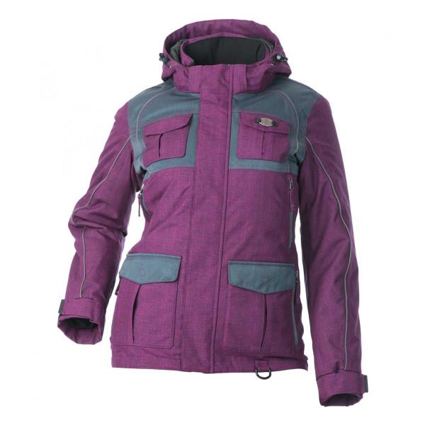 Divas Snow Gear Women's Arctic Appeal Jacket Purple