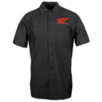 Honda Big Wing Garage Shirt Black