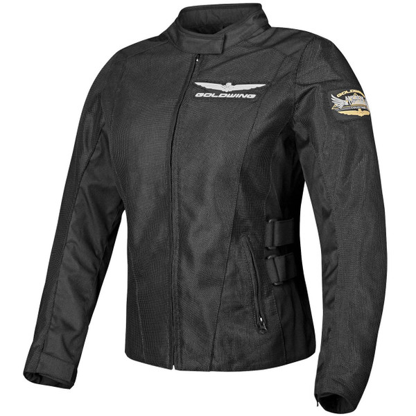Honda Collection Gold Wing Mesh Touring Womens Jacket Black