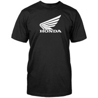 Honda Corporate Big Wing Tee Black
