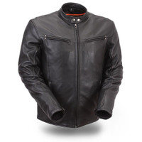 First Classics Apollo Men's Sleek Vented Scooter Jacket