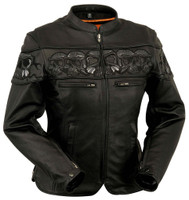 First Classics Women's Sacred Skulls Jacket