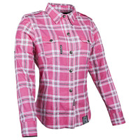 Speed And Strength Women's Smokin Aces Colored Moto Shirt Pink