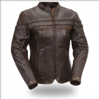 First Classics The Maiden Women's Motorcycle Leather Jacket