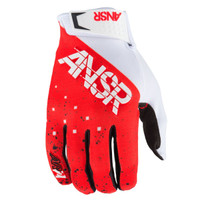 Answer Racing Elite LE Halo Gloves Red