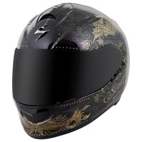 Scorpion EXO-T510 Azalea Helmet Black Main View
