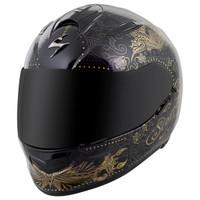 Scorpion EXO-T510 Azalea Helmet Black Main View