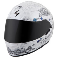 Scorpion EXO-T510 Azalea Helmet White View