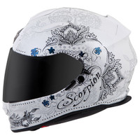 Scorpion EXO-T510 Azalea Helmet White Side View