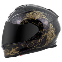 Scorpion EXO-T510 Azalea Helmet Black Side View