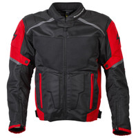 Scorpion Influx Jacket Red View