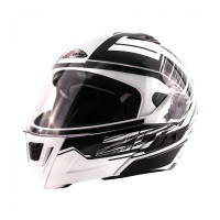 Zox Condor Svs Vision Full Face Helmet White Main View
