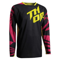 Thor S7 Fuse Air Dazz Jersey Black
