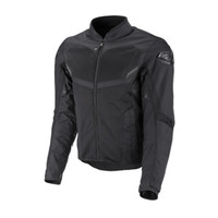 Fly Street Air Raid Mesh Jacket Black