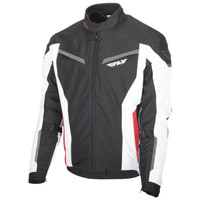 Fly Racing Strata Jacket Black/White