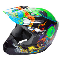 Fly Racing Youth Kinetic Invazion Helmet Green