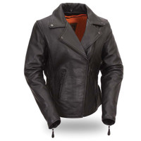 First Classics Ultra Soft Naked Touch Cowhide Ladies Jacket