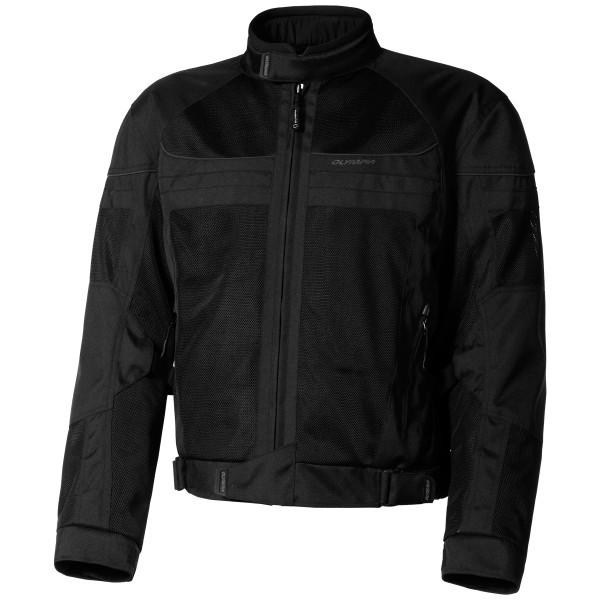 Olympia Newport Mesh Tech Jacket Black