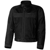 Olympia Newport Mesh Tech Jacket Black