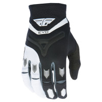 Fly Racing Youth Evolution Gloves Black/White
