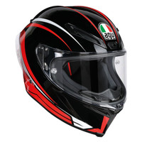 AGV Corsa R Arrabbiata Helmet Black/Red