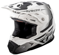 Fly Racing Toxin Original Men's Helmet White